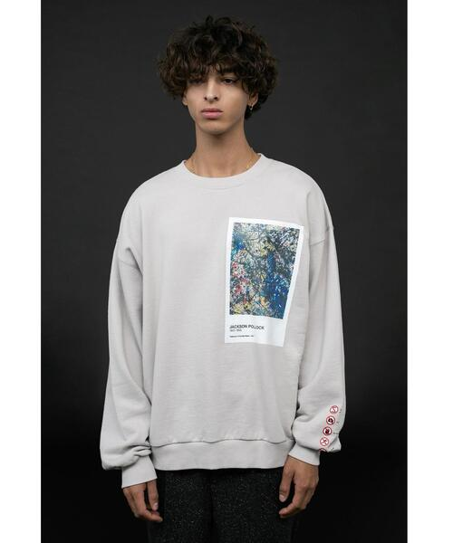 <Jackson Pollock> Directed by <monkey time> SWEAT CREW/スウェット