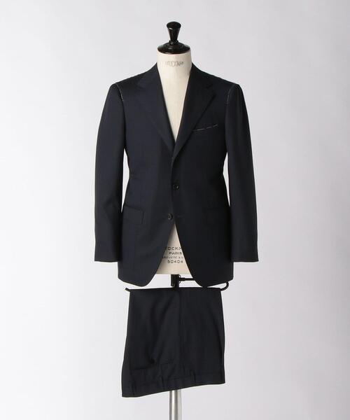 <SOVEREIGN(ソブリン)> シャドウ ストライプ 3B スーツ