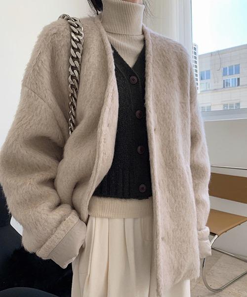【chuclla】【2020/AW】Mohair wool jacket chw1402