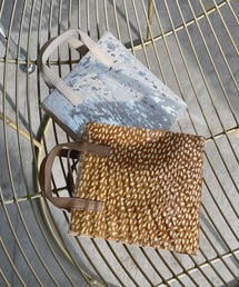 【chuclla】Leather square bag cb-2 chas1ブラウン系その他