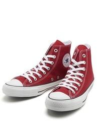 converse(コンバース)の「converse コンバース ALL STAR 100 COLORS HI オールスター 100 カラーズ ハイ 32960562 RED(スニーカー)」