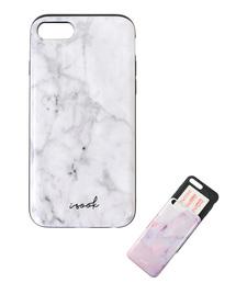 I-SOOK(アイスー)の<7/8専用>カードケース内蔵型iPhoneケース(モバイルケース/カバー)