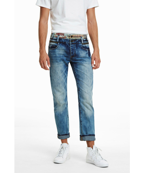 激安通販の DIEGO ダブルウエストデニム(デニムパンツ)|Desigual(デシグアル)のファッション通販, ヒウチエヒメ:e78bd8b9 --- pyme.pe