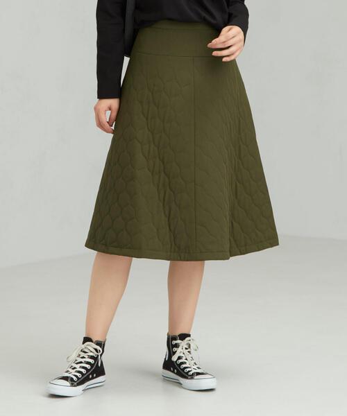 CFC キルティング フレア スカート
