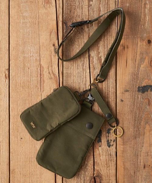 予約販売 WACCO/ WACCO/ WACCO Neck strap Neck Kyechain Bag(ボディバッグ/ウエストポーチ)|WACCOWACCO(ワッコワッコ)のファッション通販, L.L.A shopping:f6ad7881 --- fahrservice-fischer.de
