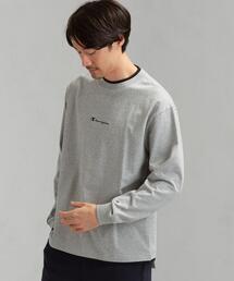 別注 [ チャンピオン ] SC Champion フェイクレイヤード ロゴ LS Tシャツ