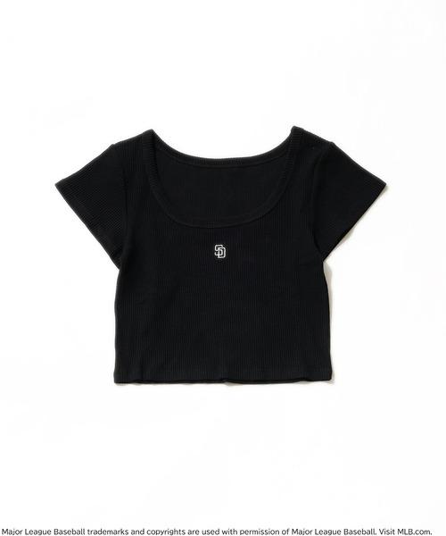 【MLB】ワンポイントロゴリブちびTシャツ
