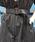 LAVEANGE(ラビアンジェ)の「ストライプ 麻混 ショートオールインワン(サロペット/オーバーオール)」|詳細画像