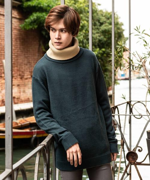 通販 Lad turtle knit turtle/ ラッドタートルニット(ニット/セーター)/ glamb(グラム)のファッション通販, イブスキシ:c8d73c53 --- 5613dcaibao.eu.org