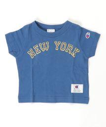 4ff738b846a75e Champion(チャンピオン)の「チャンピオン/Champion KIDS NYロゴ半袖Tシャツ(
