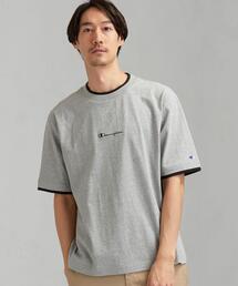 別注 [ チャンピオン ] SC Champion フェイクレイヤード ロゴ SL Tシャツ