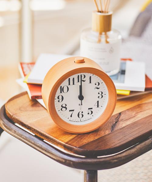 【LEMNOS ( レムノス )】RIKI ALARM CLOCK アラーム時計