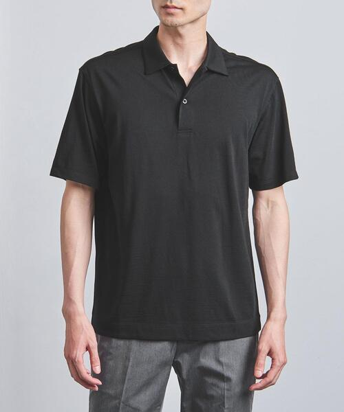 <SOVEREIGN(ソブリン)> 【REDA】アクティブ ウール ポロシャツ