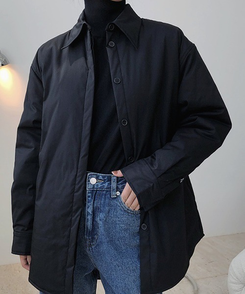 【chuclla】【2020/AW】Big shirt puffer coat chw1404