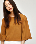 MOUSSY | WIDE SLEEVE C/N TEE(Tシャツ・カットソー)