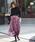 &. NOSTALGIA(アンド ドット ノスタルジア)の「クラッシュベロアマキシスカート(スカート)」|詳細画像