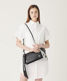 Calvin Klein Jeans Accessory(カルバン・クラインジーンズアクセサリー)の【CALVIN KLEIN JEANS】 ショルダー フラップ バッグ(ショルダーバッグ)