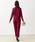 Lace Ladies(レースレディース)の「カシュクール風花柄レースオールインワン・パンツドレス(ドレス)」 詳細画像