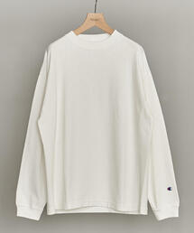【別注】 <CHAMPION(チャンピオン)> REVERSE WEAVE 9.4oz MOCKNECK LONG SLEEVE TEE/カットソー