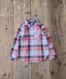 【coen キッズ / ジュニア】ダブルガーゼチェックシャツ(100〜150cm)