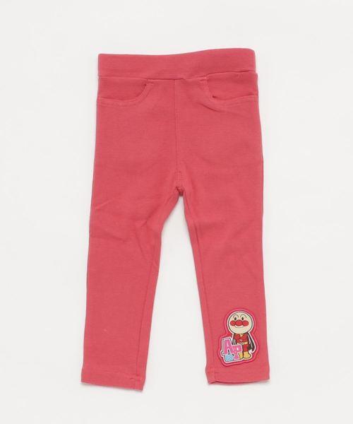 ANPANMAN KIDS COLLECTION(アンパンマンキッズコレクション)の「【アンパンマン】のびのびスーパーストレッチ素材 ストレートパンツ(パンツ)」|ピンク系その他