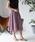 TIENS ecoute(ティアンエクート)の「サフィールギャザーミモレスカート(スカート)」|ピンク