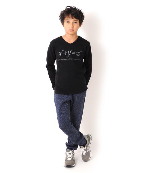方程式・厚手長袖Tシャツ