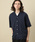 JUNRed(ジュンレッド)の「マイクロカノコオープンカラーシャツ(シャツ/ブラウス)」|詳細画像