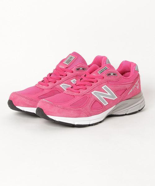 New Balance(ニューバランス)の「【NEWBALANCE】ニューバランス 990 USA(スニーカー)」|ピンク