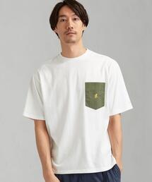 別注 [ グラミチ ] SC GRAMICCI GLR PN ポケット 5分袖 Tシャツ †
