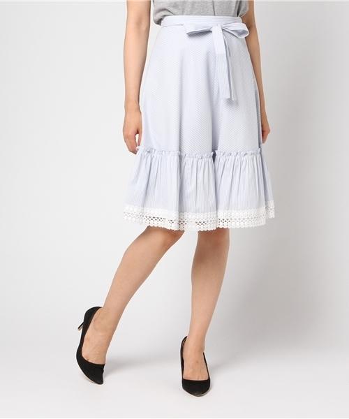 最高品質の 【セール】コットンナイロンストライプスカート(スカート) BE|TO BE CHIC,トゥー CHIC CHIC(トゥー ビー シック)のファッション通販, 葛城市:d8ed7d19 --- pyme.pe