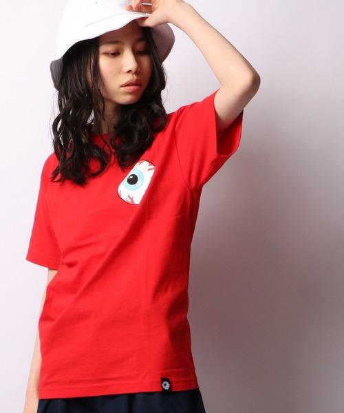 【MISHKA】キープウォッチ フロントプリントクルーネックTシャツ