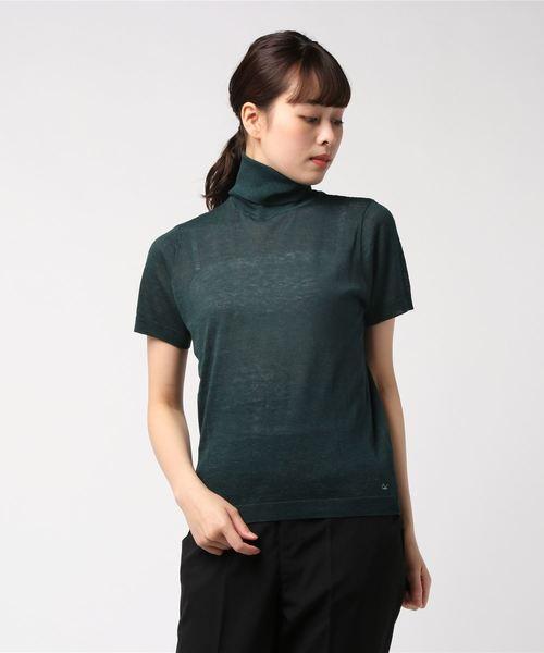 最も信頼できる ギマ天竺ニットのハイネックTシャツ, 野沢温泉村 9db1e428