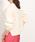ROPE' mademoiselle(ロペマドモアゼル)の「【AQUA】カシミヤブレンドボートネック袖パフニット(ニット/セーター)」 ホワイト