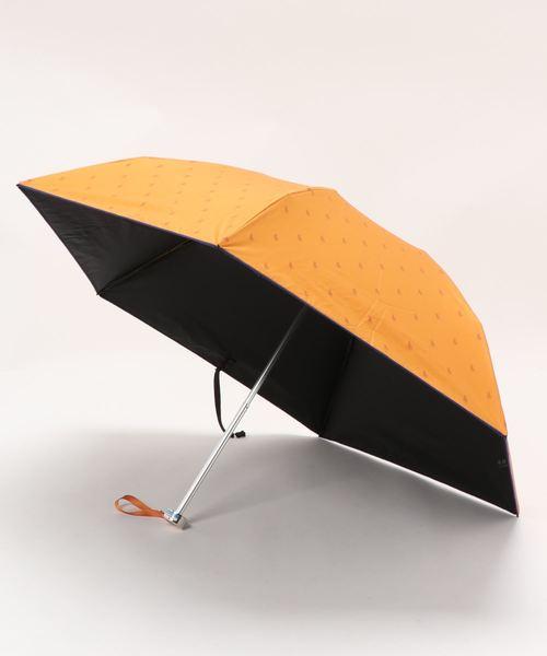 """晴雨兼用折りたたみ傘 """"ロゴプリント'"""