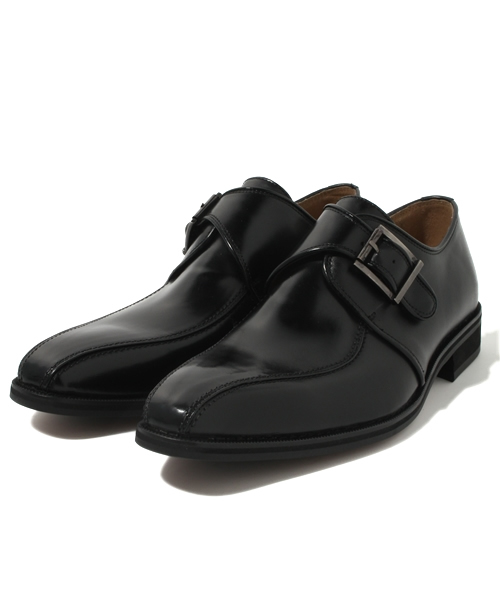 Lorenzo Commy / 2053 MONK STRAP BUSINESS SHOES