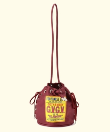 GV1835001 LACE UP BUCKET BAG