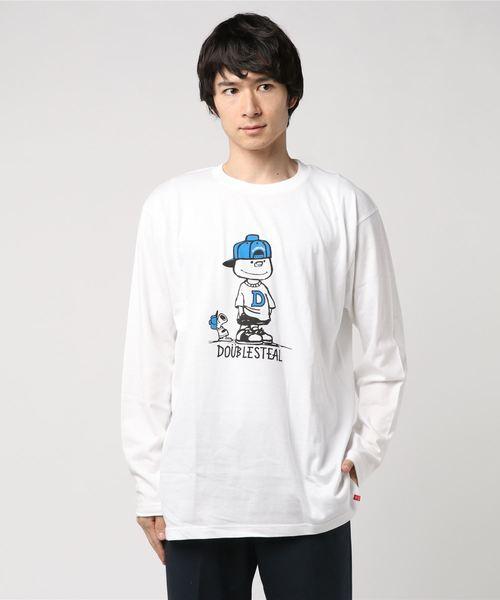 With DOUBZ  長袖Tシャツ