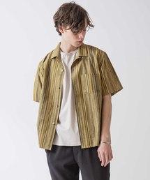 Johnbull Private labo(ジョンブルプライベートラボ)のオープンカラーシャツ(ORIENT)(シャツ/ブラウス)