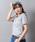 Wordtrobe(ワードトローブ)の「【wordtrobe】コーマ天竺 刺繍 Tシャツ(Tシャツ/カットソー)」|グレー