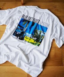 【別注】 <EIZIN SUZUKI> PRINT TEE/Tシャツ