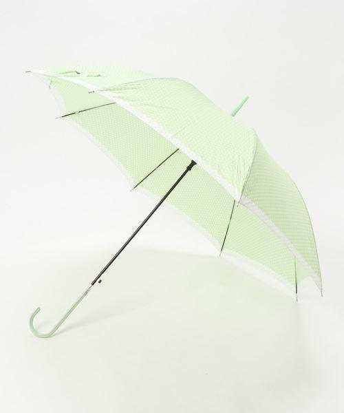 COLONY 2139(コロニートゥーワンスリーナイン)の「ドット切り替え長傘(長傘)」|グリーン系その他2