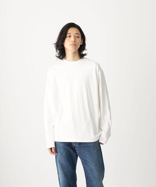<CITEN(シテン)>GIZAコットン テーパード Tシャツ