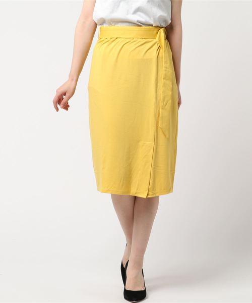 最新デザインの 【セール セール,SALE,three】Marisol 5月号掲載/トラベルライン ウィメンズ,three ラップスカート(スカート)|three dots dots(スリードッツ)のファッション通販, 景品御殿:e89851ce --- pyme.pe
