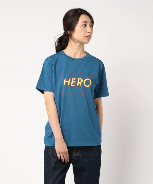 BOHEMIANS / ボヘミアンズ HERO PRINT S/S TEE