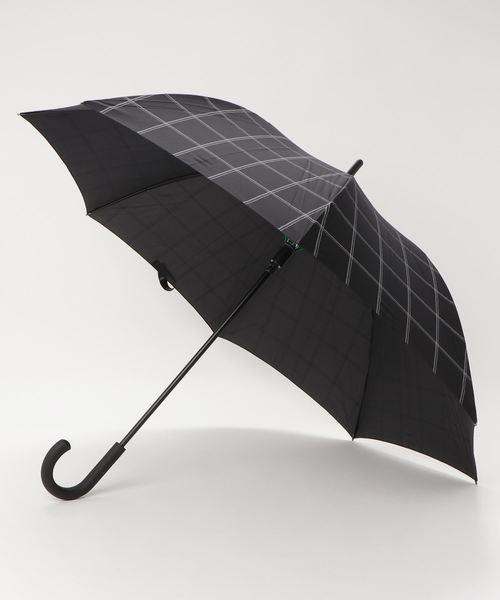 傘 【チェック TYPHOON】