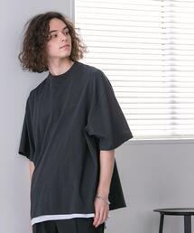 【WEB限定】FEELING MADE ハイツイストコットン ハイネック ハーフスリーブ Tシャツ