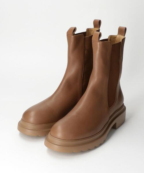 <Pomme Dor(ポモ ドーロ)>SIDE GORE ブーツ