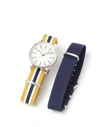 f39ae219e9 niko and...(ニコアンド)の「チェンジベルトシルバーウォッチ(腕時計