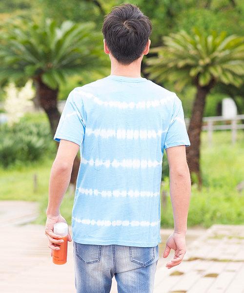 タイダイ染めクルーネック半袖Tシャツ / VITW18-02
